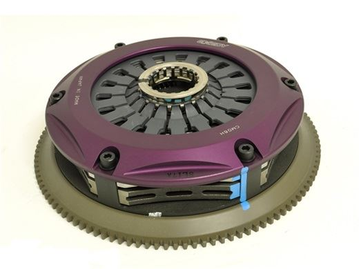 Exedy: Hyper Triple Plate Clutch Assembly (HD): Evo IV - IX