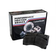 PF Z-Rated: Rear Brake Pad Set: Evo 10 GSR / Std Brembo Calliper
