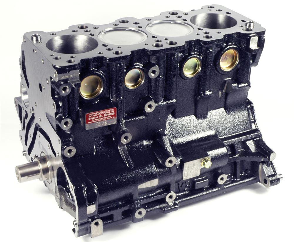 Cosworth: (2 2L) Short Block: Forged Pistons, Rods, Billet Crank