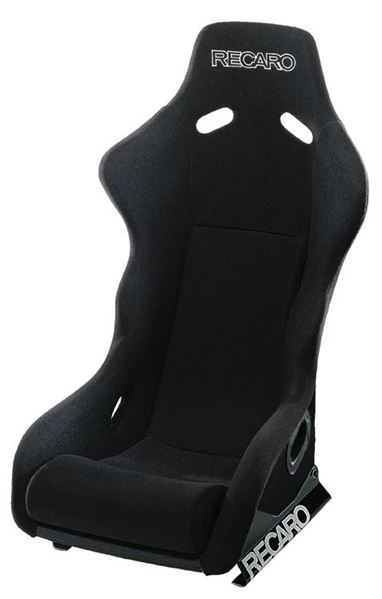 Recaro: Apex FIA Motorsport Bucket Seat (Perlon Velour Black)