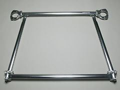 CARBING: ALUMINIUM R TOWER BAR (SQUARE TYPE) - EVO 4-9