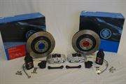 Alcon: 343mm Rear Brake Kit: Subaru BRZ / Toyota FT86